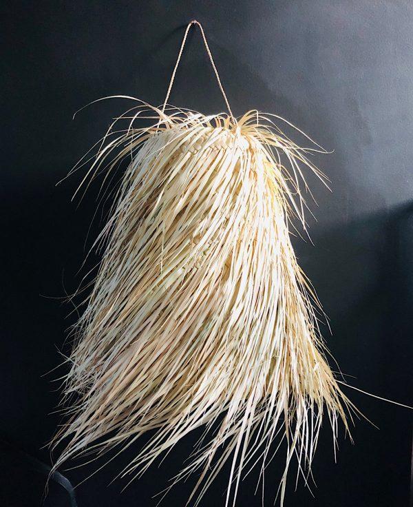 suspension feuille de palme conique