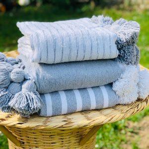 plaid coton taille s