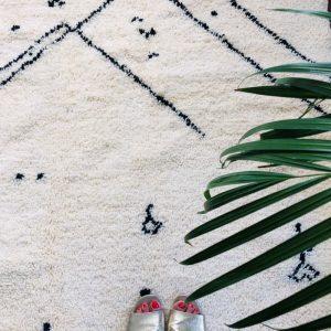 beni ouarain motifs berberes et points