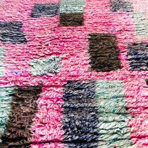 tapis couloir Boujaad rose