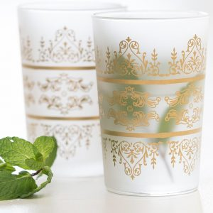 service verres à thé