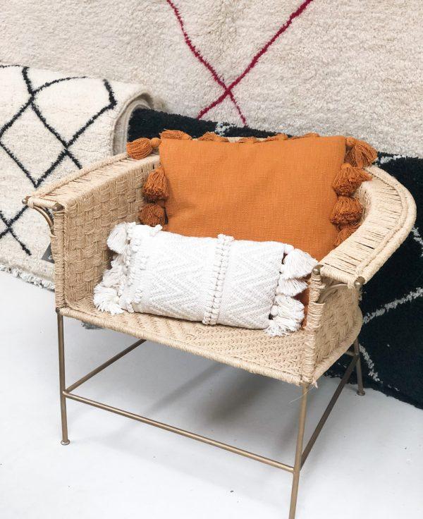 fauteuil en jute