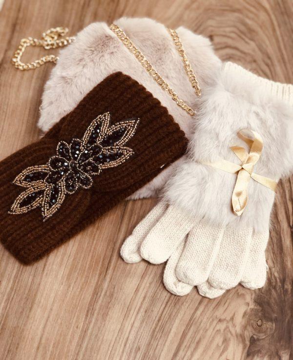 sac bandeau gants