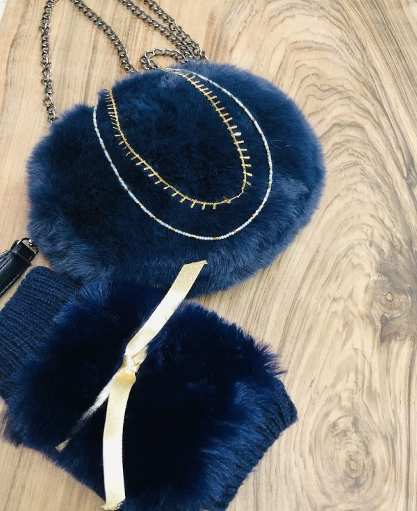 sac gants collier