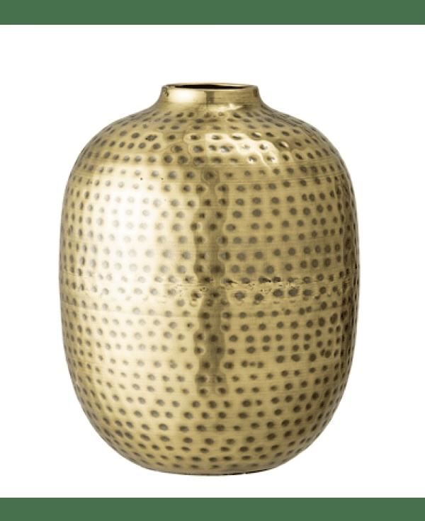 vase métal martelé