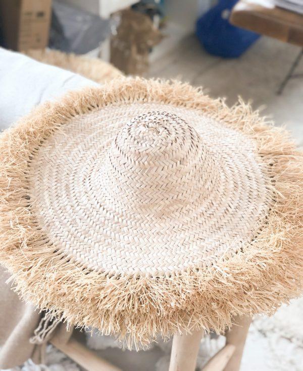 chapeau rafia