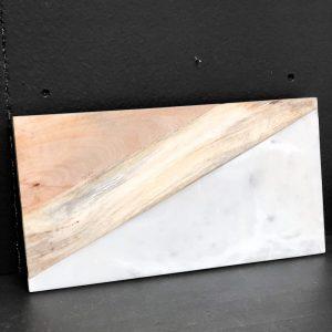 planche marbre et bois