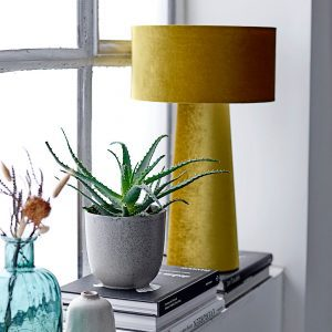 lampe velours