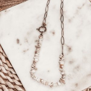 collier coquillages