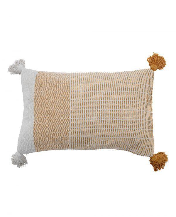 coussin coton recyclé